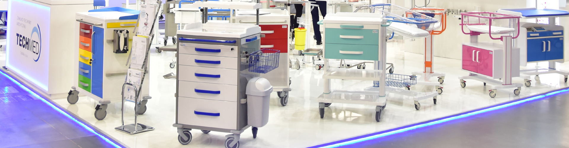 Tables, assistant cabinets, medical carts